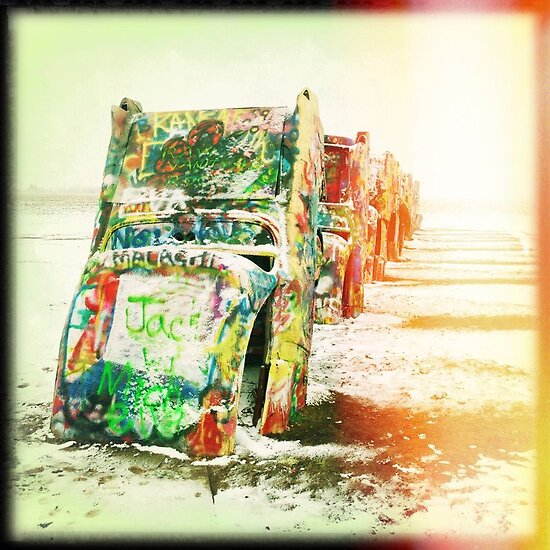 Cadillac Ranch by mikehull221