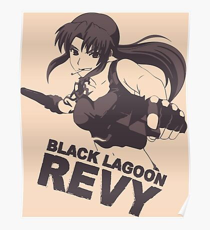 Revy Tri-Color Poster