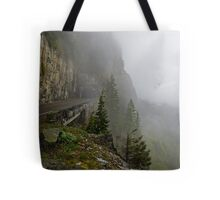 Road into the Clouds Tote Bag