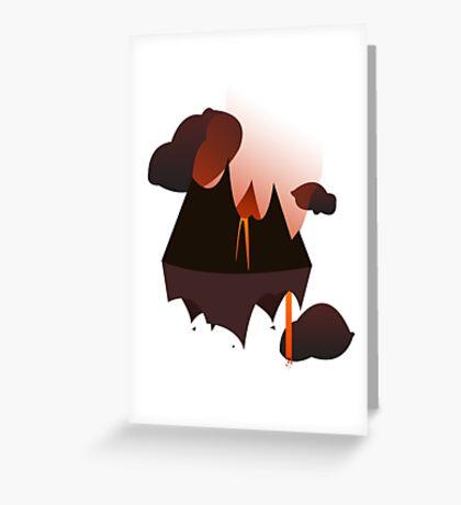 Mordor in the Sky Greeting Card