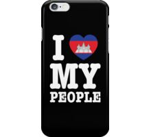 I Heart (Love) My Khmer People iPhone Case/Skin