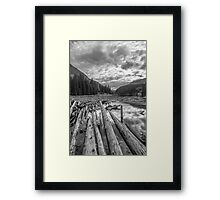 Duffey Lake Framed Print