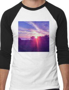 Cocoa Sunrise Men's Baseball ¾ T-Shirt