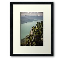 On St.Marks Summit Framed Print