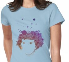 22468 Circles Womens Fitted T-Shirt