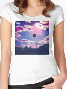 Balloon Trip Women's Fitted Scoop T-Shirt