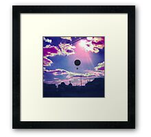 Balloon Trip Framed Print