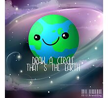 Hetalia: Draw a Circle that's the Earth~ Photographic Print