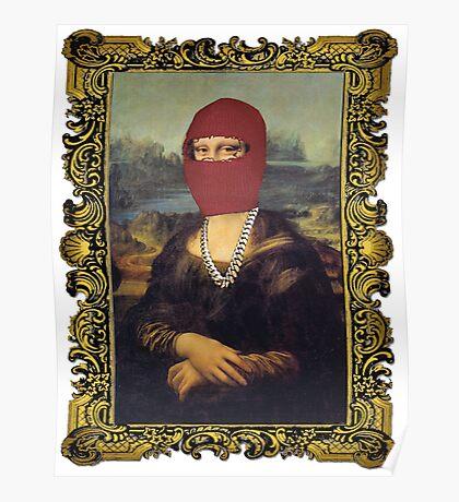 Yeezus Taught Mona Lisa Poster