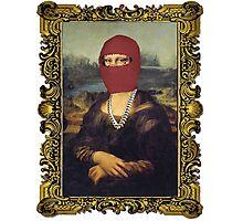 Yeezus Taught Mona Lisa Photographic Print