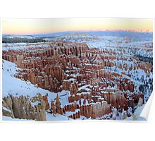 Spectacular Winter Scenery Poster