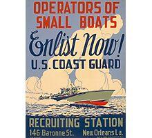 U.S. Coast Guard Photographic Print