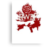 RWBY red rose Canvas Print