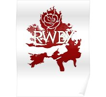 RWBY red rose Poster