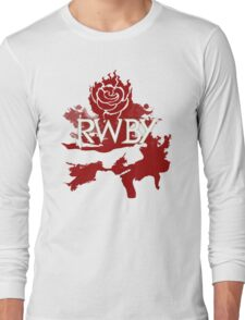 RWBY red rose Long Sleeve T-Shirt