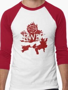 RWBY red rose Men's Baseball ¾ T-Shirt