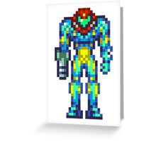 Metroid Fusion Greeting Card