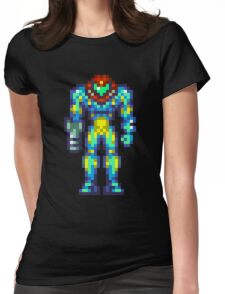 Metroid Fusion Womens Fitted T-Shirt