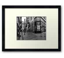 Jack Kerouac Alley Framed Print