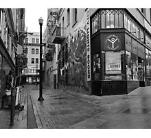 Jack Kerouac Alley Photographic Print