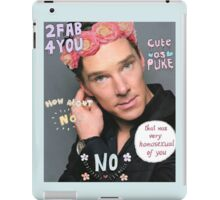 Benedict Cumberbatch is a sassy gurl.  iPad Case/Skin
