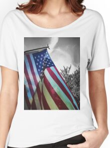 Home of the Free Women's Relaxed Fit T-Shirt