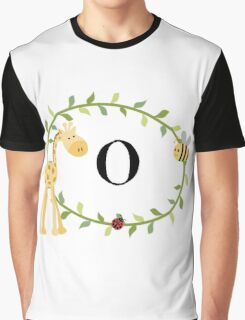 Nursery Letters O Graphic T-Shirt