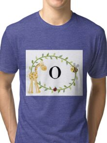 Nursery Letters O Tri-blend T-Shirt