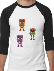 Super Metroid Men's Baseball ¾ T-Shirt