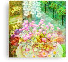 Summer impression Canvas Print