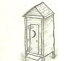 Outhouse by MarlaMustard