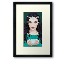 Luthien and the Silmaril Framed Print