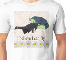 Benedict Cumberbatch is flying through the air! Unisex T-Shirt