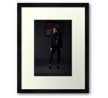 Solo night Framed Print