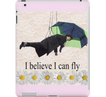 Benedict Cumberbatch is flying through the air! iPad Case/Skin