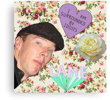Hide yo gurlz, Benedict Cumberbatch is about! Canvas Print