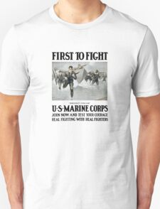 First To Fight -- US Marine Corps T-Shirt