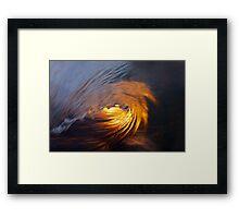 Sunset Firewater Framed Print