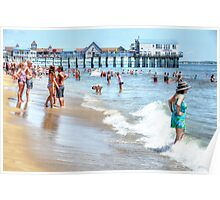 Old Orchard Beach - Postcard Poster