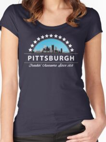 Pittsburgh Pennsylvania Freaking Awesome Since 1816 Women's Fitted Scoop T-Shirt