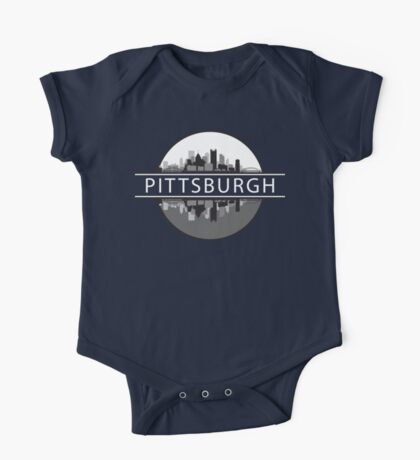 Pittsburgh Pennsylvania One Piece - Short Sleeve