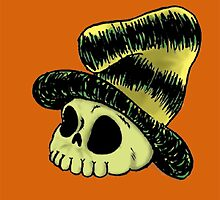 Green Eggs and Horror Skull by HenryGaudet