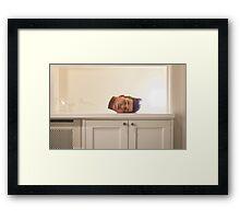 Head Piece Framed Print