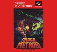 Super Metroid Japanese Box Art Shirt by augoosto