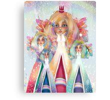 Rainbow Fairies Canvas Print