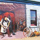 Wall Mural 3 by Margaret Stevens