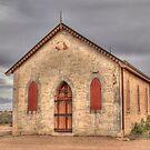 Methodist Church, Silverton, NSW by Adrian Paul