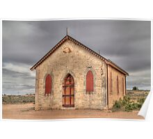 Methodist Church, Silverton, NSW Poster