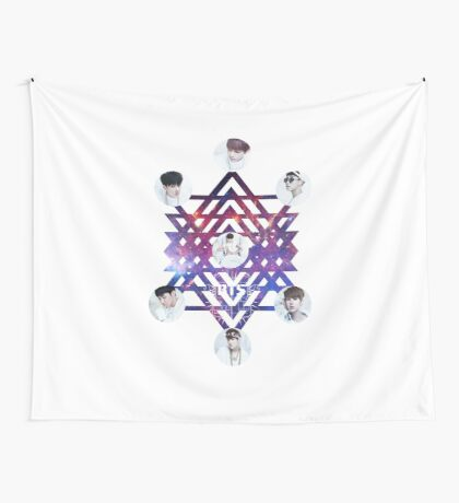 BTS ABSTRACT Wall Tapestry