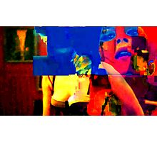 Young Electric Lady Photographic Print